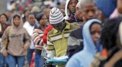 2030年南非的人口将增长至6800万