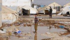 2014年年中叙利亚难民人数或占约旦人口40%