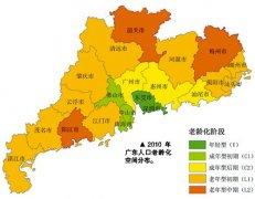 预测:5年后广东人口老龄化比重将接近10%