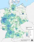 德国人口数量欧盟第一,却看起来地广人稀的秘密