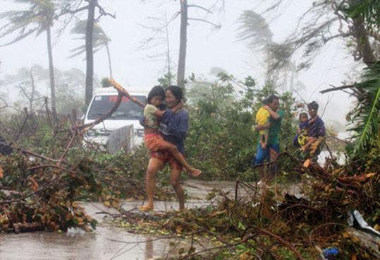 气候灾害不断改变菲律宾人口分布状况