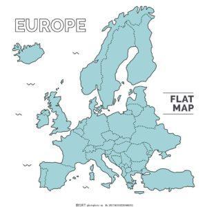 2018年欧洲国家地区人口密度排行榜 欧洲哪个国家密度最大
