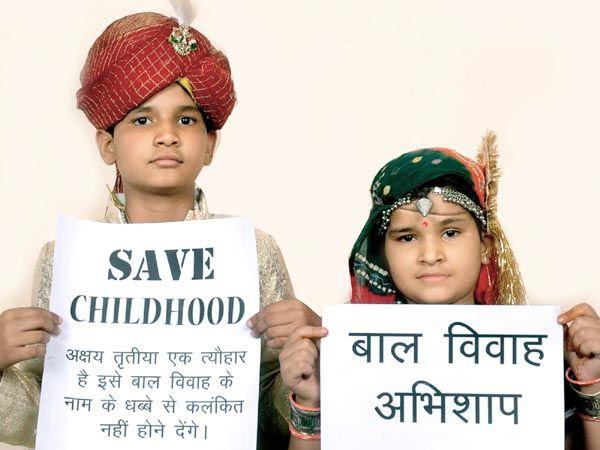 印度惨无人道的童婚