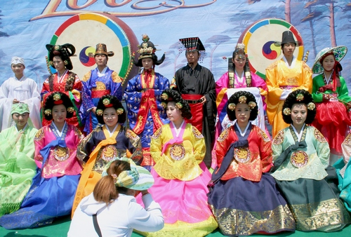 朝鲜族服饰的发展