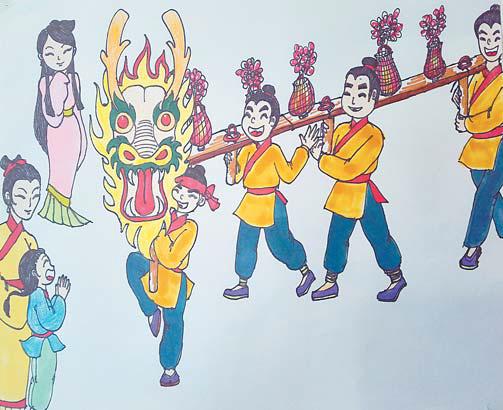 """""""画""""说义乌春节传统文化习俗"""