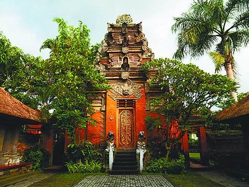 艺术巴厘岛再读窄门文化