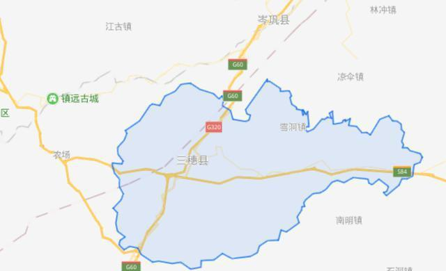 贵州省一个县,人口超20万,地处贵州、湖南的交界处!