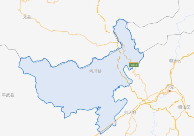 四川省一个县,人口超20万,因为一条河而得名!
