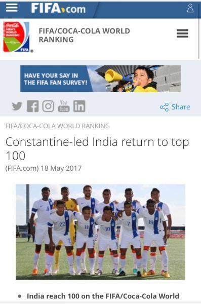 印度人口排名世界第几_豪言赶超中国世界排名大幅提升……印度足球发