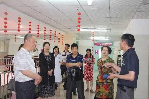 河南省人口计生_河南省计划生育工作领导小组莅临湖滨区妇幼保健院调研工作